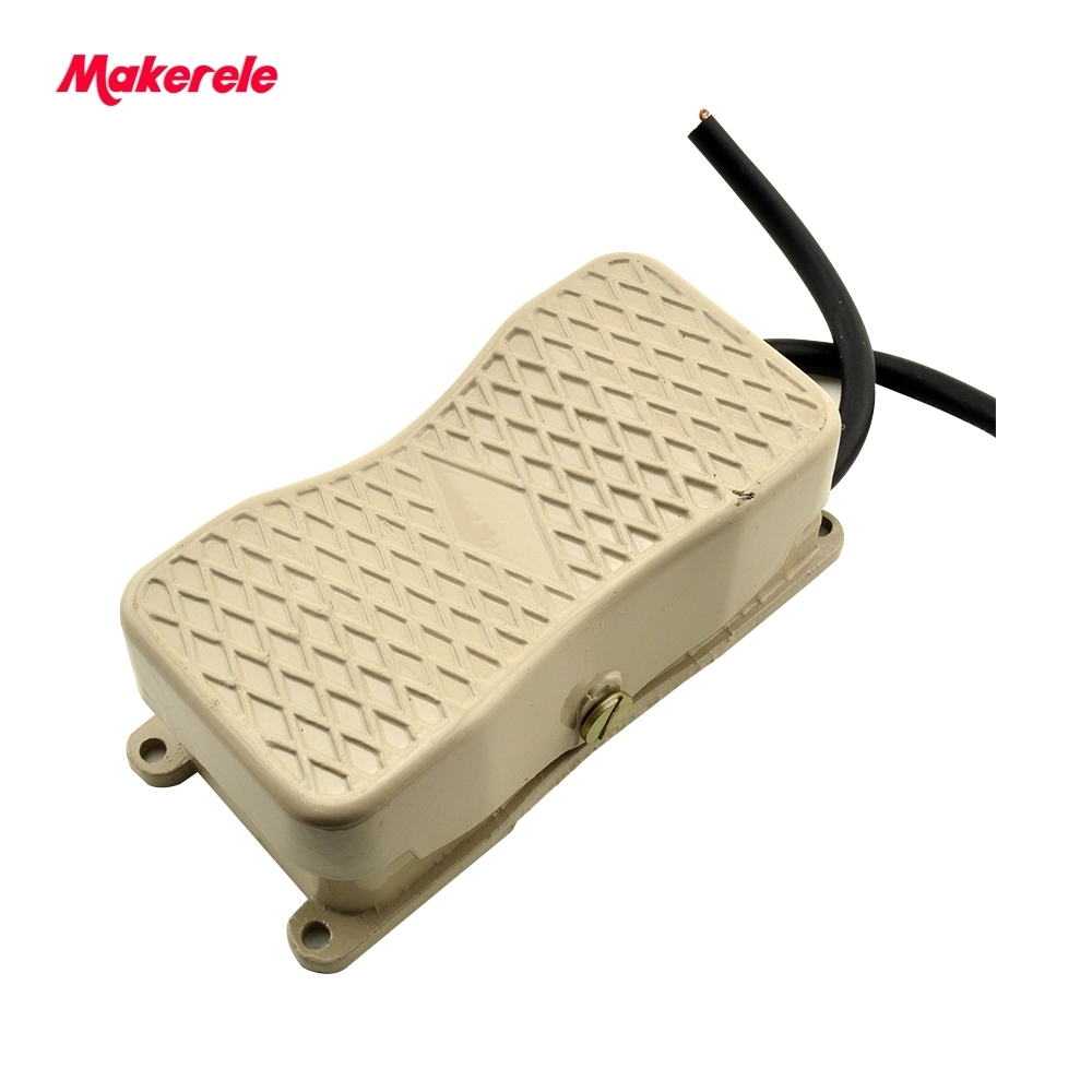 Antislip Non Latching Momentary foot switch popular household for Motor Control MKYDT1-18 Dual Action hot sale 10 15A low price 1pc spst momentary soft touch push button stomp foot pedal electric guitar switch m126 hot sale