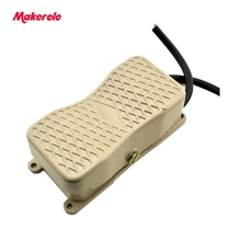 Antislip Non Latching Momentary foot switch popular household for Motor Control MKYDT1-18 Dual Action hot sale 10 15A low price