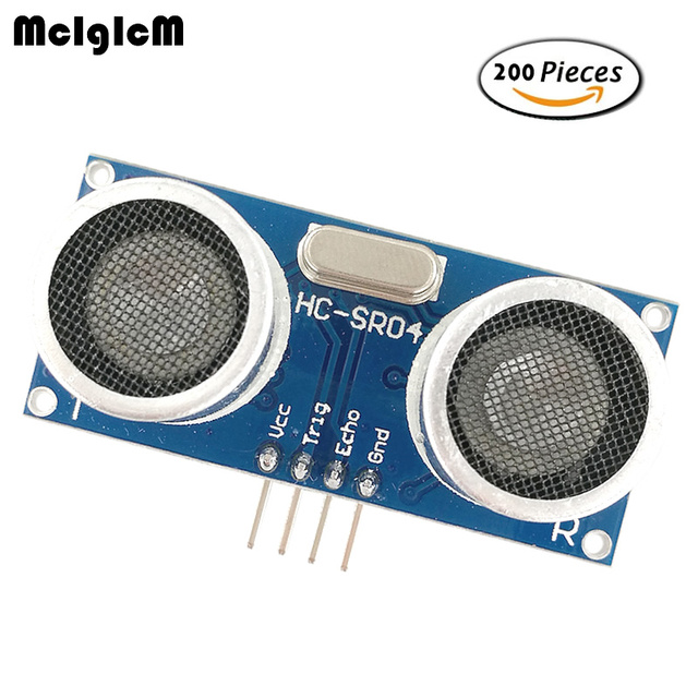 US $188 0  MCIGICM 200pcs Ultrasonic Module HC SR04 Distance Measuring  Transducer Sensor HCSR04 ultrasonic transducer ultrasonic sensor-in  Integrated