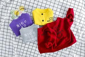 Image 4 - 3PCS תינוקות בני בגדי תלבושות חדש מלא שרוול מעיל + חולצה + מכנסיים ילדים בגדי תלבושות פעוט בני סטים 1 2 3 4 שנים