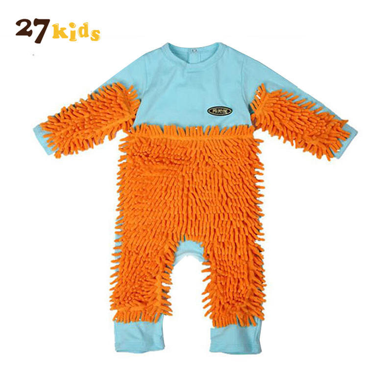 27Kids Long Sleeve Rompers Baby Clothing Newborn Boys Girls Clothes Infant Baby Causal Jumpsuit Toddler Costume for Bebies baby rompers cotton long sleeve 0 24m baby clothing for newborn baby captain clothes boys clothes ropa bebes jumpsuit custume