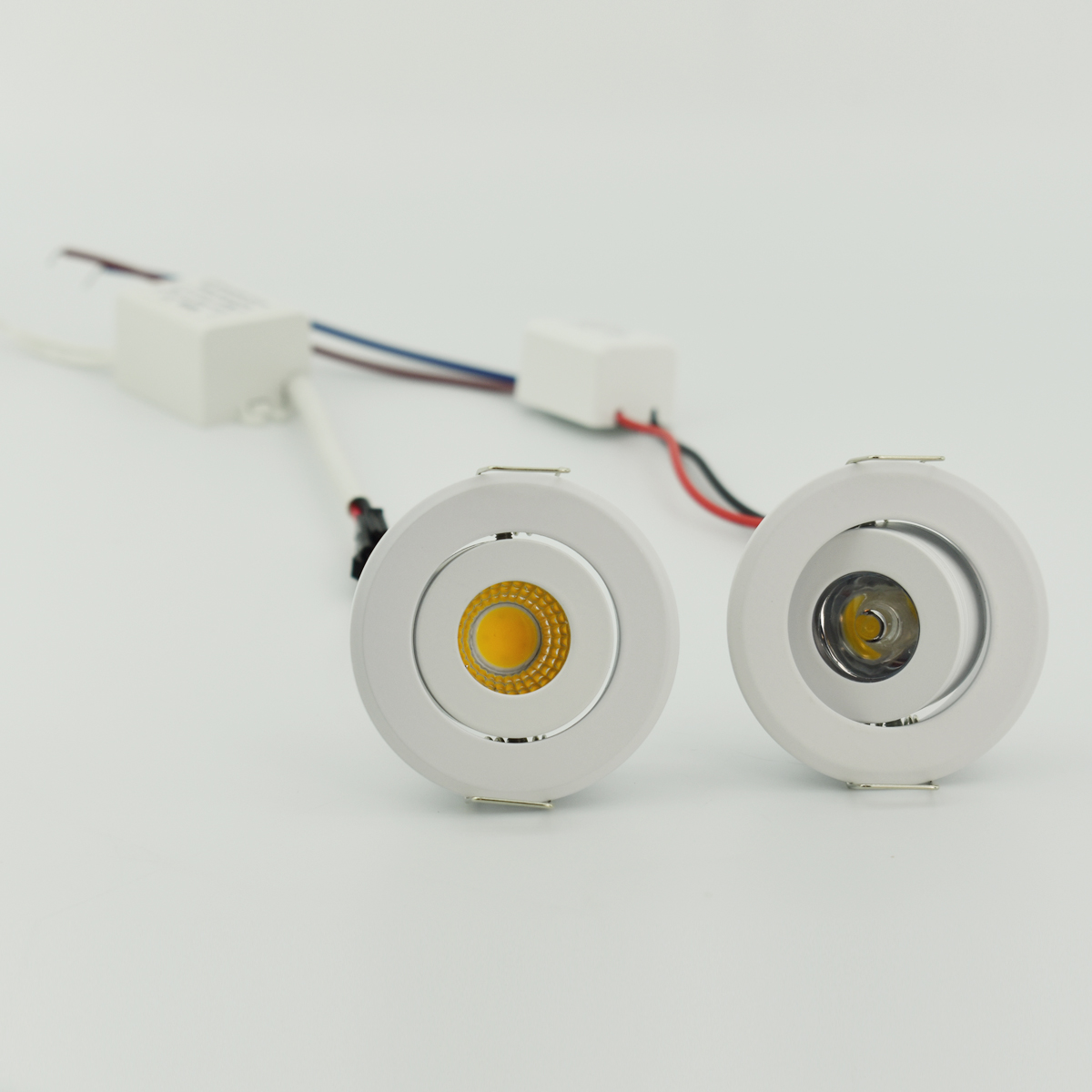 Mini Led Spot Downlights 1W COB 3W LED Recessed Spot Dimmable Round Led For Home Cabinet Showbox