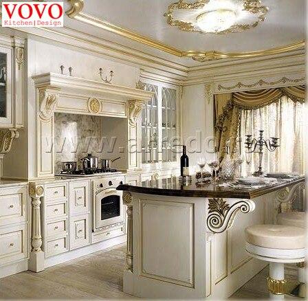 الكلاسيكية تصميم المطبخ الجملة والتجزئة|classic kitchen
