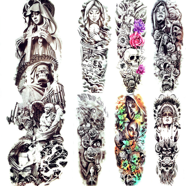 Dessin Ange Triste triste christ religieuse fille soeur tatouage temporaire ange aile