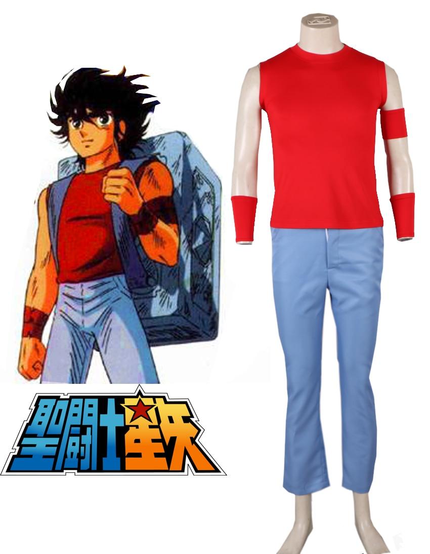 Saint Seiya bronce Saint Pegasus uniforme Seiya Cosplay traje|cosplay  costume|uniform cosplaysaint seiya costume - AliExpress