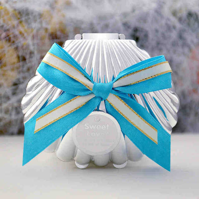 60pcs Sea Shell Box Wedding Favor Favours Gift Bo