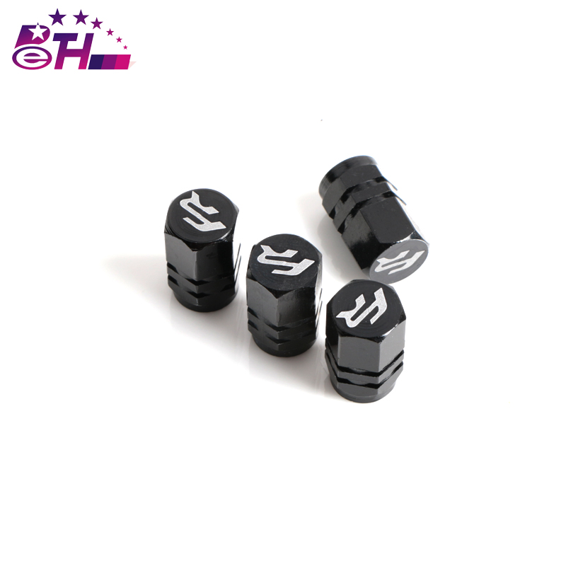 4Pcs Aluminum Car Tyre Air Valve Caps Bicycle Tire Valve Cap for Seat Leon Ibiza FR cupra Altea Belt Racing Car Styling ryanstar racing car universal 16 5mm aluminum alloy tire tyre valve caps