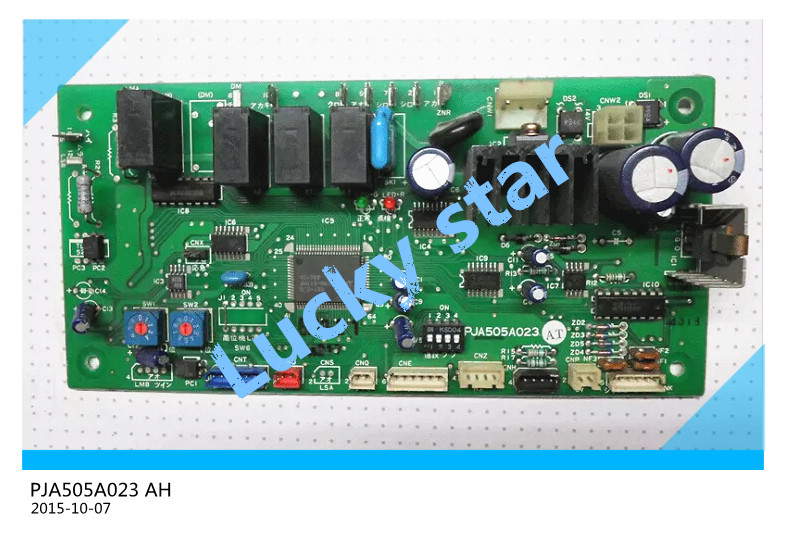 95% new for Mitsubishi Air conditioning computer board circuit board PJA505A023 AH board good working цена