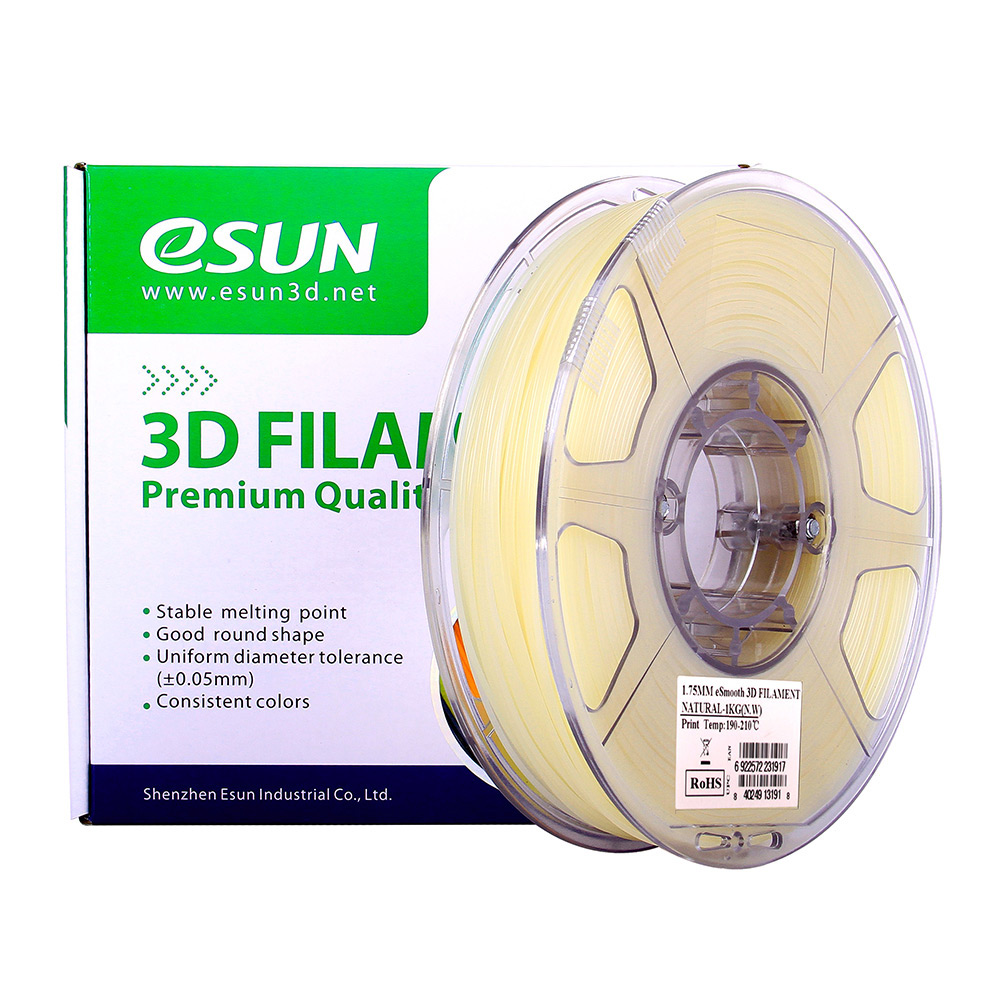 Clear 3d Printing Filament Pla 1.75mm 2.2lbs Always Buy Good Dimensional Accuracy Of / 0.0..