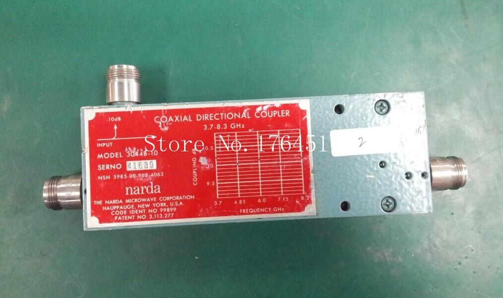 [BELLA] Narda 3044B-10 3.7-8.3GHZ -10dB Coaxial Directional Coupler N