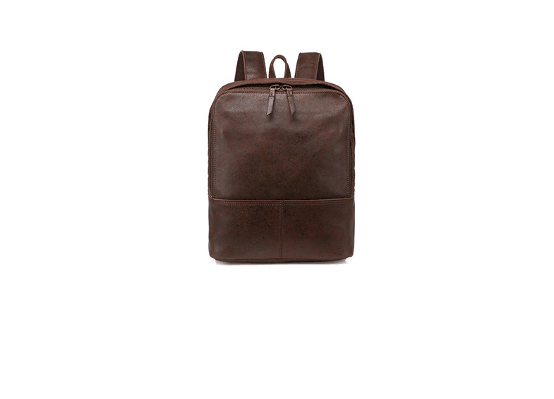 Genuine leather casual large backpack for men high quality Genuine leather casual large backpack for men high quality