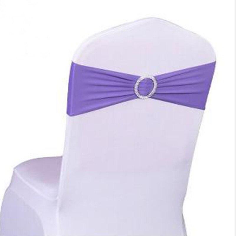 BALLE 100 sztuk elastan Lycra ślub krzesło zespoły wesele urodziny krzesło dekoracji krzesło hurt skrzydła wysokiej jakości w Szarfy od Dom i ogród na  Grupa 1