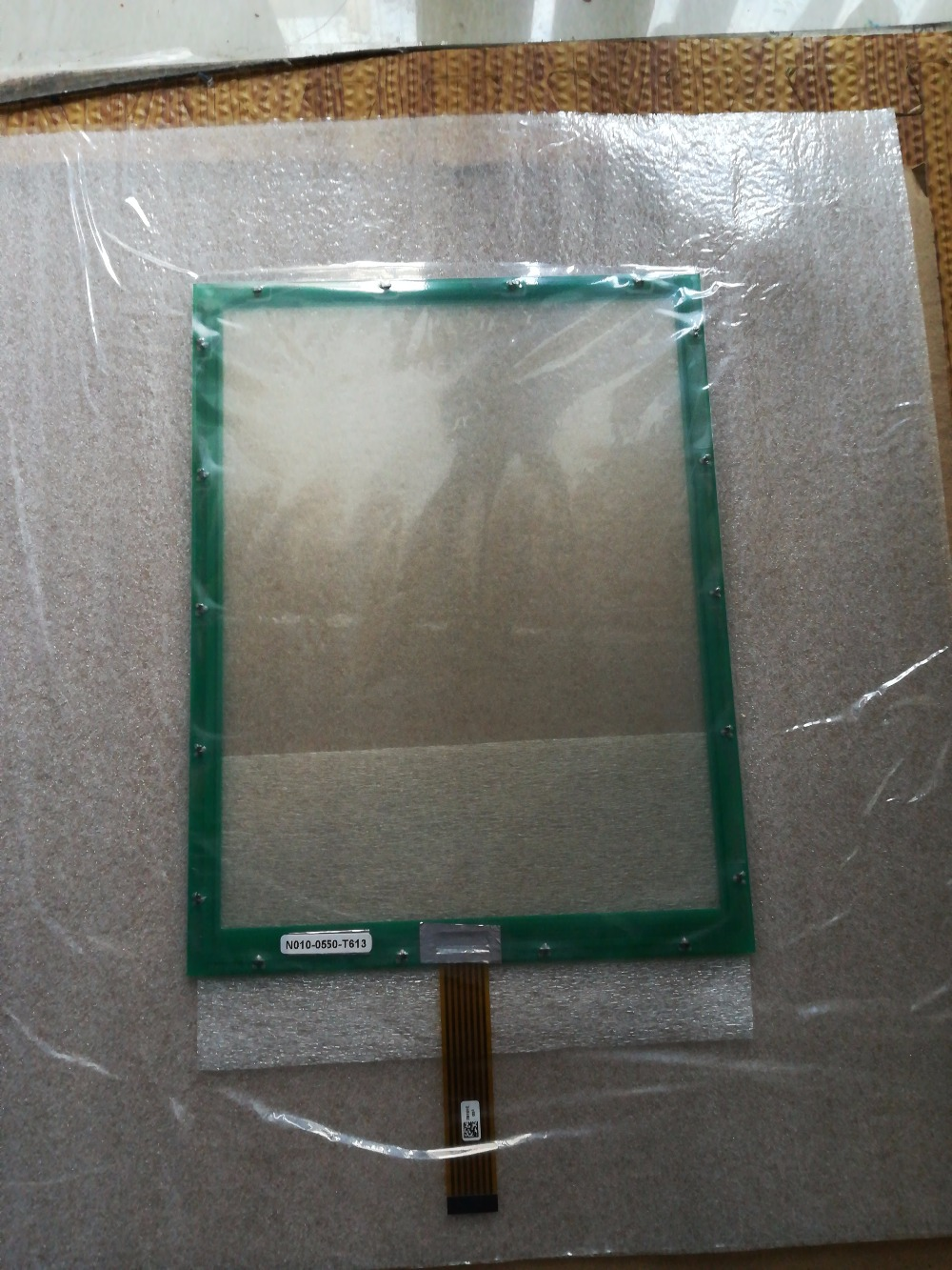 New original N010-0550-T613 N010-0550-T613T touch screen touch glass n010 0518 x262 01 tw brand new and original touch screen well tested working three months warranty