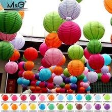 """10 50 ס""""מ אספקת פסטיבל פנס נייר סין מפיון DIY מתנת מלאכת קישוט מסיבת החתונה יום הולדת פנס"""