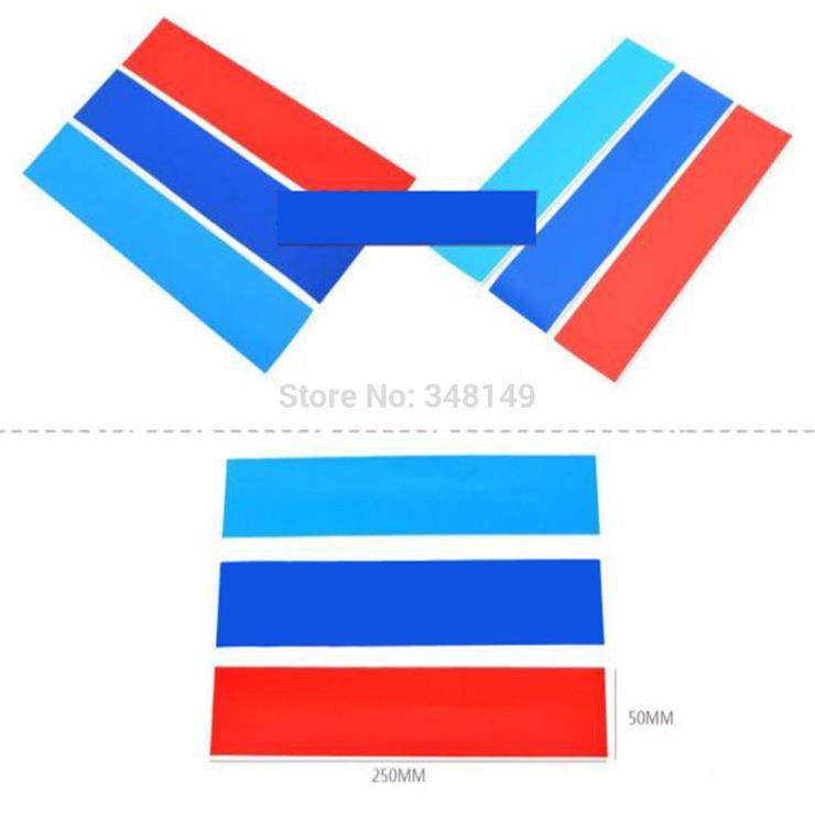 Aliauto Car-styling /// M Sports Stickers Առջևի ցանցով - Ավտոմեքենայի արտաքին պարագաներ - Լուսանկար 3