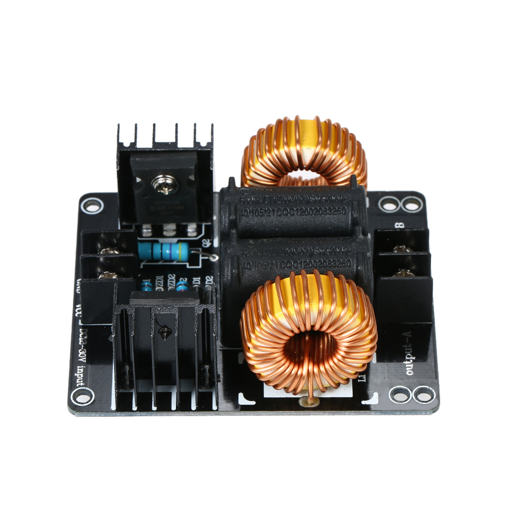 Dc 12 30v Zvs Low Voltage Induction Heating Board Tesla Coil Flyback Simple Heater Circuit 1000w Module Driver Marx Generator Power