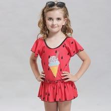 Good Quality Top Bikini 2017 Swimsuit One Piece Swimwear Girls Children Bathing Suit Kids Swimming Suit
