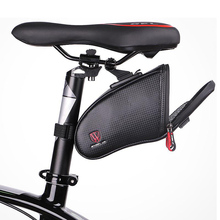 Bike Bicycle Saddle Tail Bag Rainproof Reflective MTB Mountain Road Cycling Rear Seatpost Accessories