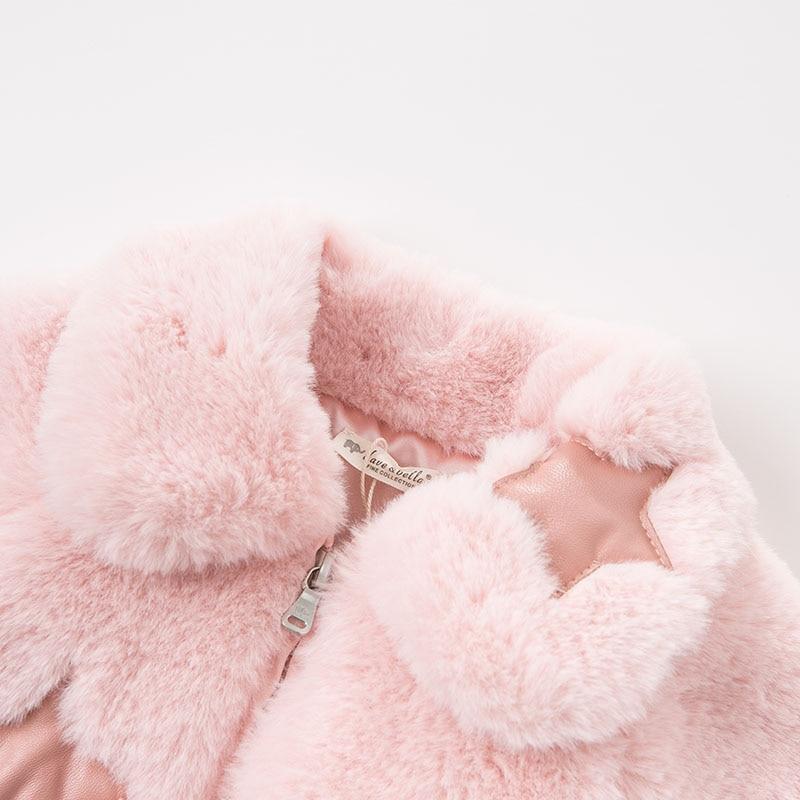 DB8478 dave bella autumn winter baby lolita girls lovely jacket children high quality coat infant toddler outerwear