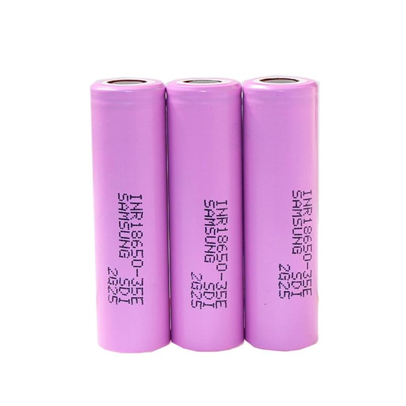 High Capacity for SAMSUNG INR 18650 35E 3.6v 3.7V 3500mAh lithium Ion Li ion Rechargeable