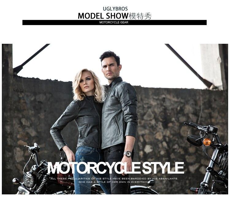Uglybros rocke rz2 мотоциклетная куртка Автомобильная гонка одежда хлопок фланчар формирующий тело тонкая талия