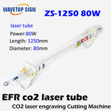 EFR ZS-1250 tubo del Laser 80 w longitud 1250mm diámetro 80mm