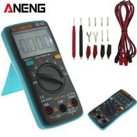 ANENG AN8002 Portátil LCD Backlight Multímetro Digital 6000 Counts AC/DC Amperímetro Voltímetro Ohm Medidor|Multímetros| |  -