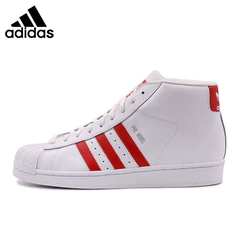 Original New Arrival 2016 Adidas Originals Superstar leather Men's Skateboarding Shoes Sneakers