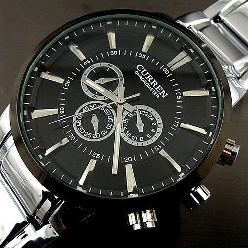 Curren Reloj de Cuarzo relogios masculinos 2016 de la Marca de Lujo Reloj de Los Hombres de Moda Casual de Negocios Reloj de pulsera Completa de Acero Reloj de Los Hombres