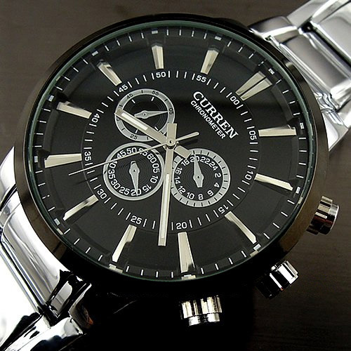Curren relogios masculinos 2016 Luxury Brand Watch Men Fashion Watch Quartz Business Casual Wristwatch Full Steel Men Watch-in Quartz Watches from Watches