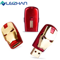 LEIZHAN USB Flash Drive Avengers U Stick 64G 32G 16G 8G 4G Pendrive USB2.0 Pen Drive Memory Card U Disk Fashion Storage Device