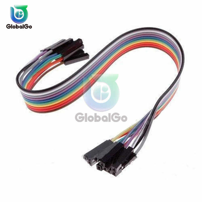 20CM 10PIN Female to Female Jumper Wire Dupont Cable for arduino DIY KIT Dupont Line Electrical Connectors
