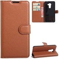 YINGHUI Leather Phone Case For Vodafone Smart Platinum 7 Magnetic Luxury Elegant Cover Cases Holster Bag For Smart Platinum 7