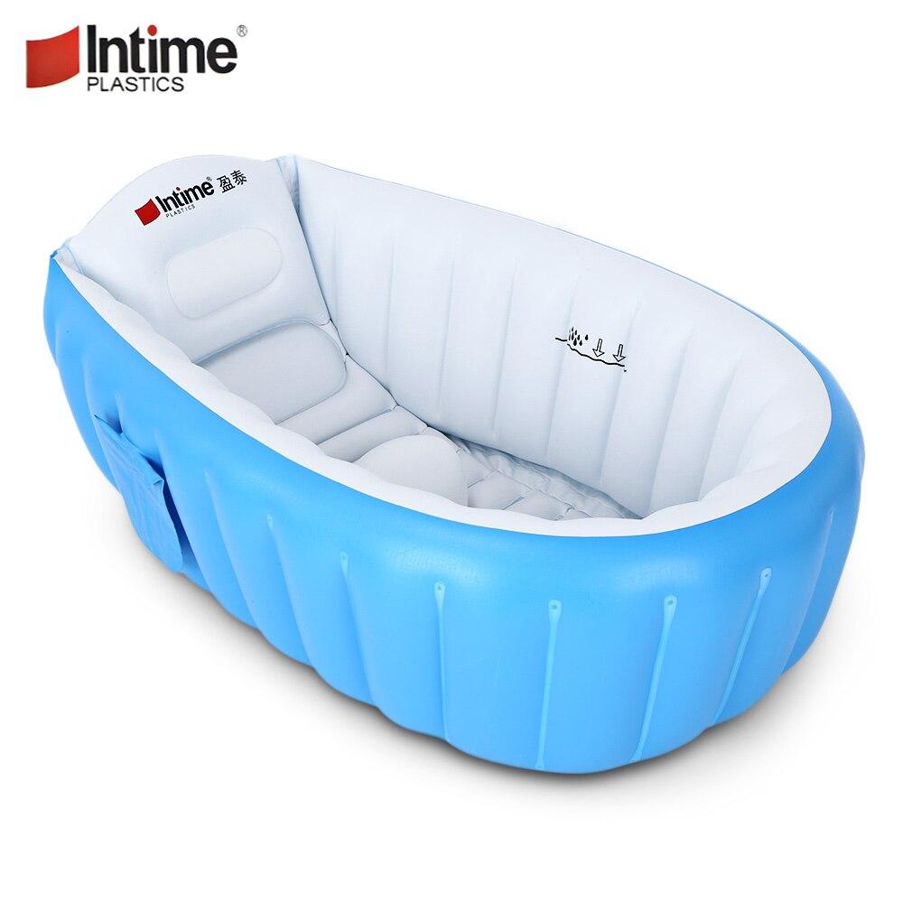 InTimes Портативный детские надувные ванна детская Ванна утолщение складной умывальника Детская ванна для бассейна