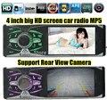 4.1 ''дюймовый TFT HD большой экран автомобильного радио плеер, 4016C, USB SD aux в 1080 году P фильм радио ж/пульт дистанционного управления, 1 автомобиля гама аудио стерео mp5