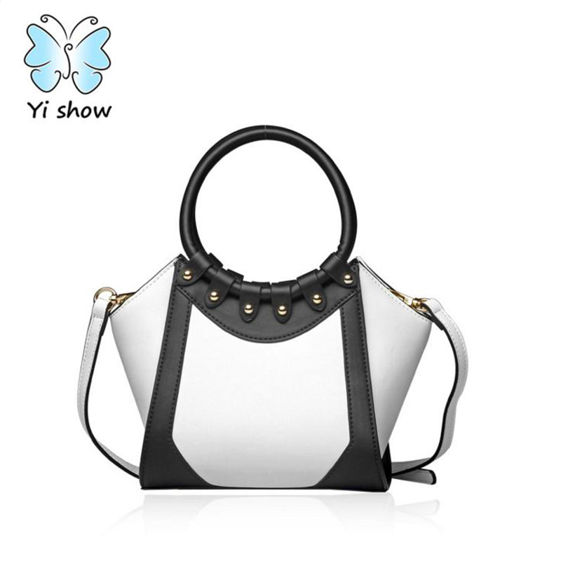 Anna's Bag PU Shoulder Bag Fashion Trapeze Women Messenger Bags Women Famous Brands Crossbody Bags Panelled Handbag H-201708