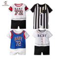 Summer Newborn Baby Girl Clothes Ropa Bebe Cotton Short Sleeve Baby Rompers Kids Costume Toddler Jumpsuit Infant Boy Sport Suit