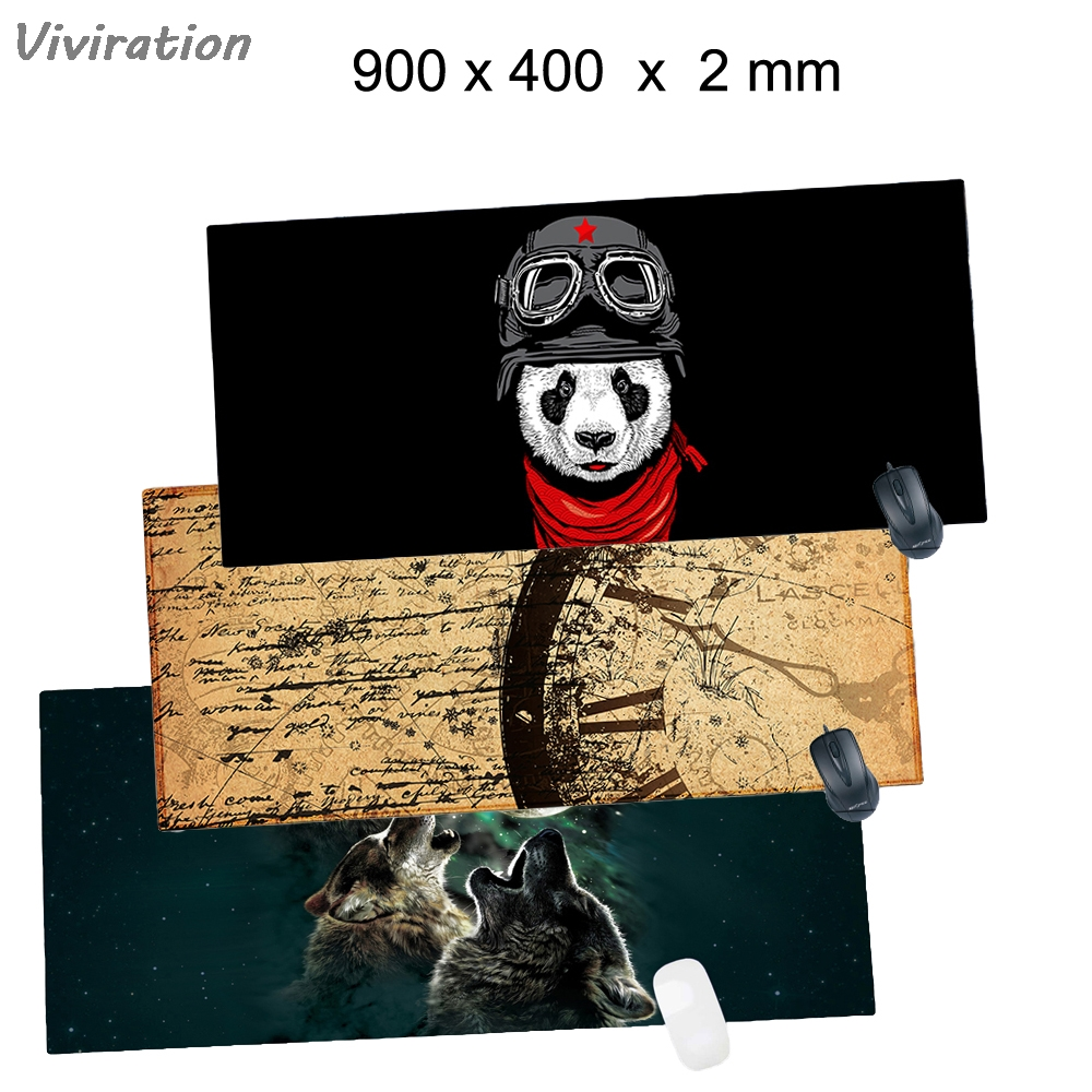 Viviration Gaming Laser Mouse Mat New Rubber Mice Mousepad Pads For csgo overwatch dota 900*400*2mm mousepad Retails