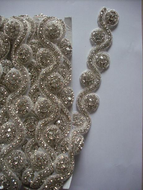 Rhinestone For Fashion Wedding Decoration Bridal Beaded