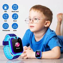 Children's Smart Watch HD Touch Color Screen SOS GPS Help Play Game Children's Smart Call Watch Kid SmartWatches Baby Watch(China)