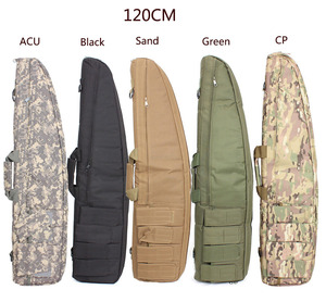 Image 1 - 2019100% NEW Hunting 100cm/ 120 cm Gun Rifle Bag Outdoor Tactical Carrying Bags Military Gun Case Shoulder Pouch For Shooting