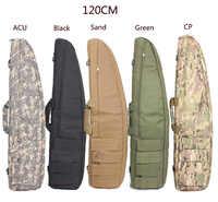 2019100% nouvelle chasse 100 cm/120 cm pistolet fusil sac en plein air tactique sacs de transport militaire pistolet étui épaule poche pour le tir