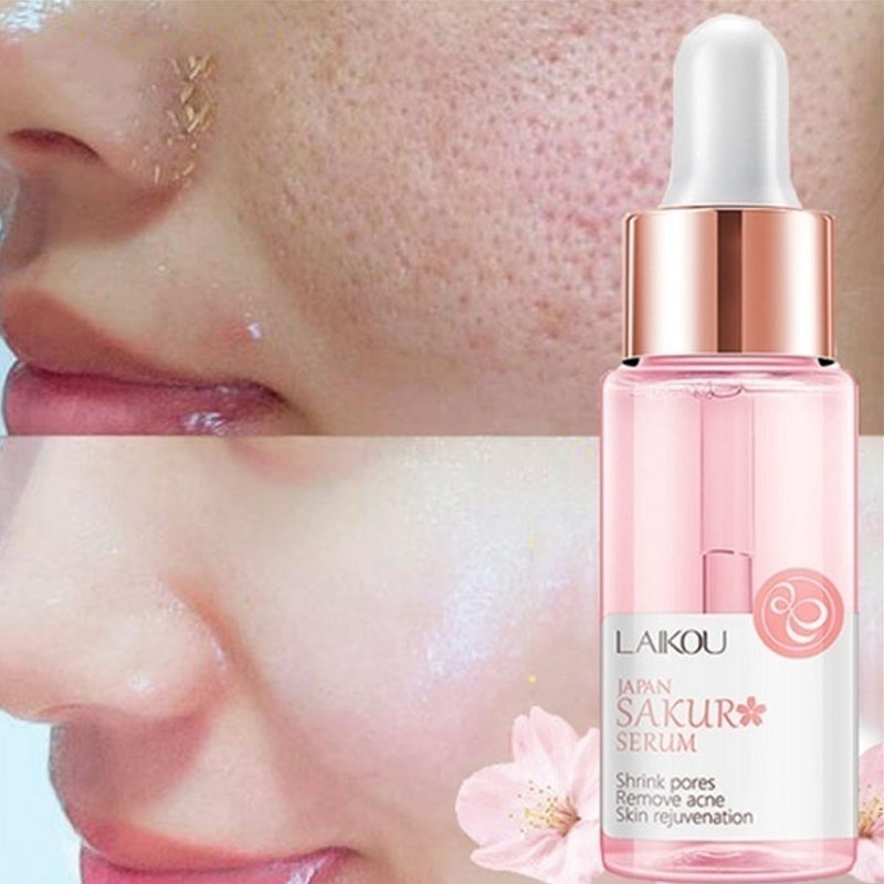 Face Primer Makeup Oil Control Moisturizing Pores Shrinking Essence Soft Smooth Pore Invisible Hyaluronic Acid Base Liquid image