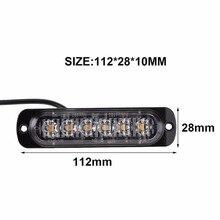 New 18W 12-24V LED Work Light Bar Spotlight Flood Lamp Driving Fog Offroad Led Work Car Light for SUV led beams