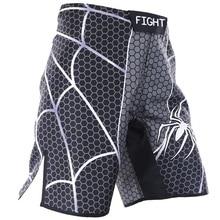 Муай Тай шорты для женщин ММА борьба бокс спортивные бег fido Комплексная боевой фитнес человек паук training Санда ветер