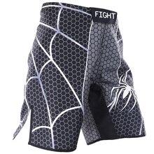 Shorts muay thai MMA lucha boxeo deportes running shorts fido combate integral fitness spiderman entrenamiento sanda viento