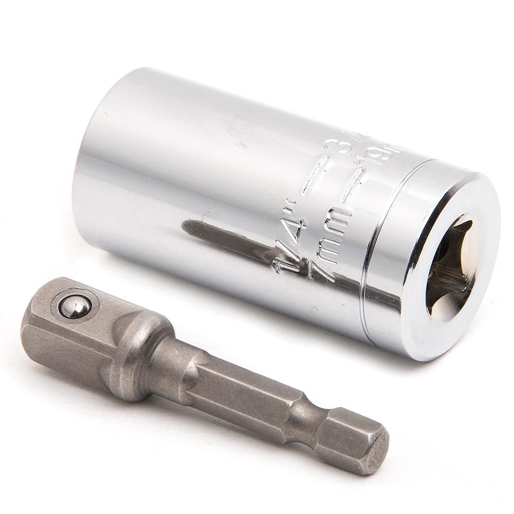 Universalus veržliarakčio rinkinys Lizdo adapteris su gręžimo - Rankiniai įrankiai - Nuotrauka 2