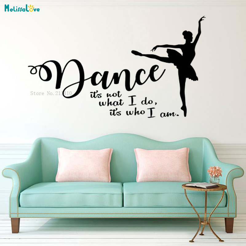 It/'s All About Dance Vinyl Decal