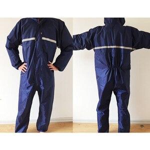 Image 4 - 1PCS Waterproof Windproof Conjoined Raincoats Overalls Electric Motorcycle Fashion Raincoat Men And Women  Rain Suit Rainwear