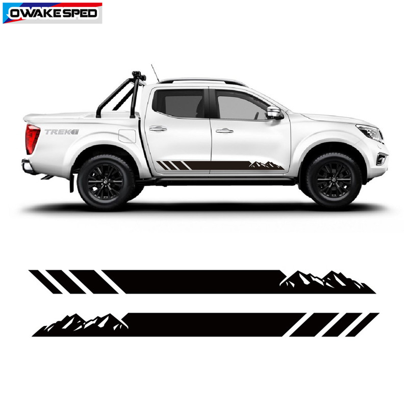 Adhesive sticker Nissan Frontier
